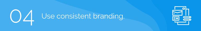 Use Consistent Branding Nonprofit Event Registration
