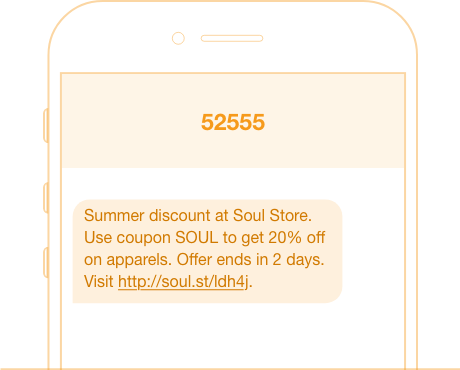 shared short code sms marketing