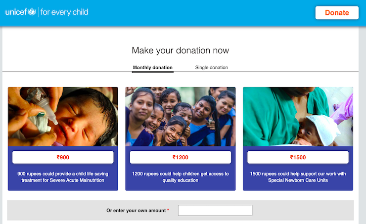 online-donation-form-unicef