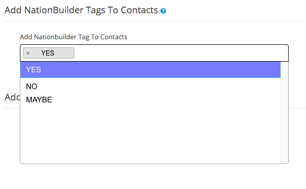 Importing tags - NationBuilder to CallHub