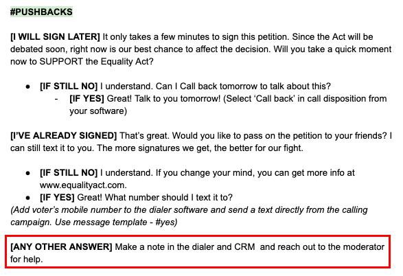 Phone Script Template from callhub.io