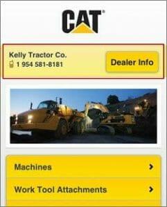cat-mobile-website