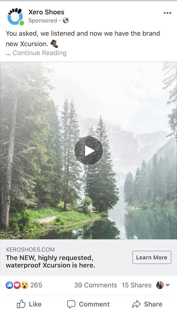 xero-shoes-video-ad