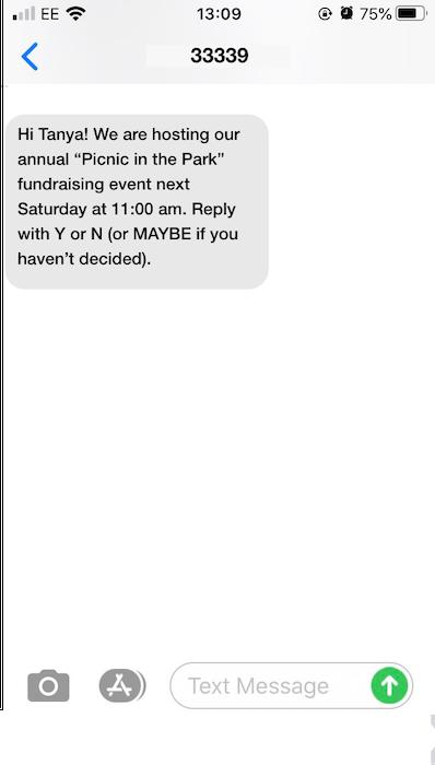 Fundraising autoresponder