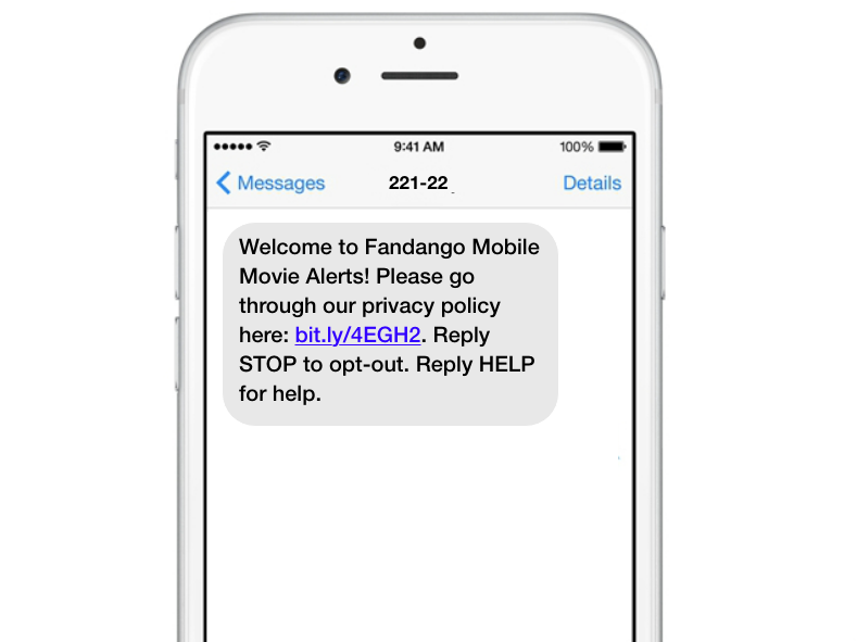 Privacy policy text
