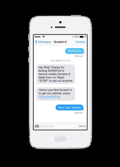 Texting CTA