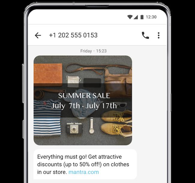 bulk MMS sale promotion