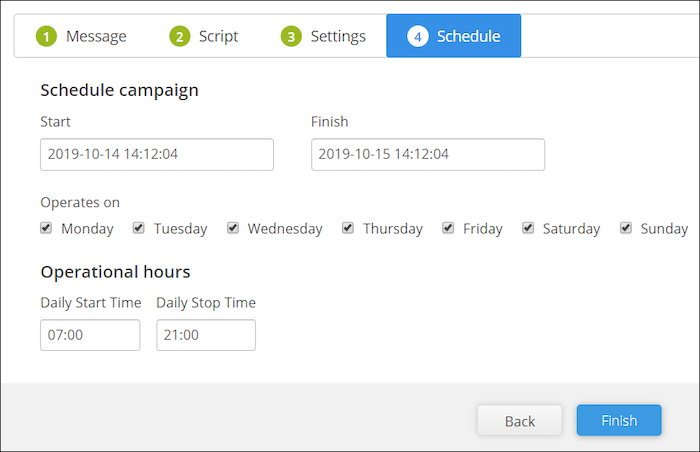 mass text scheduling