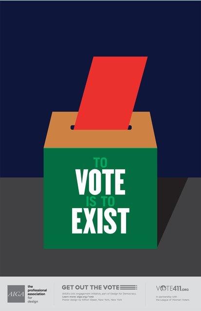 political campaign poster gotv sample