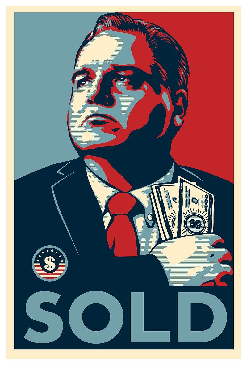 political campaign poster obama satire