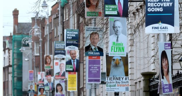 political campaign poster street boards example