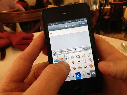 text messaging abbreviations emoji