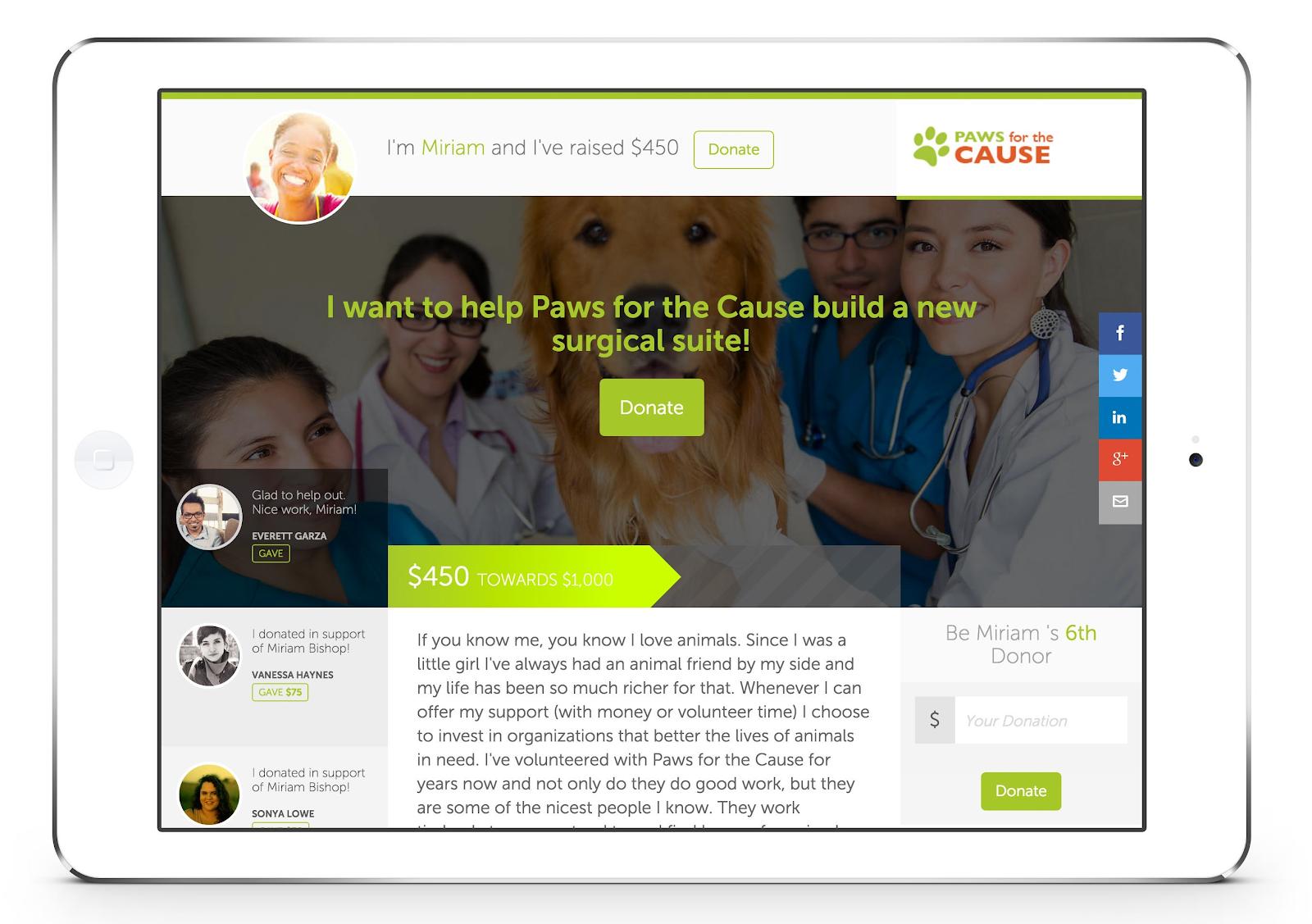 online donation tools donatenow