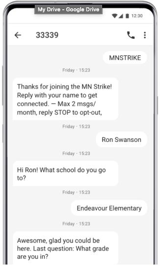 automates SMS conversation survey