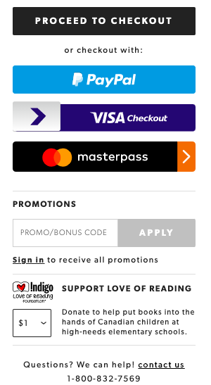 ecommerce checkout fundraising