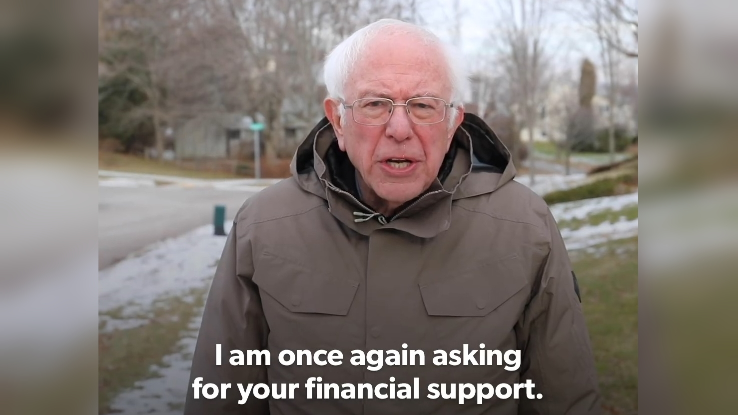 social media political campaign bernie fundraising appeal