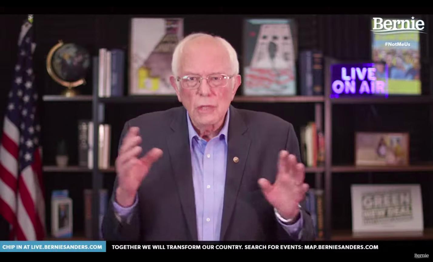 social media political campaign bernie sanders youtube