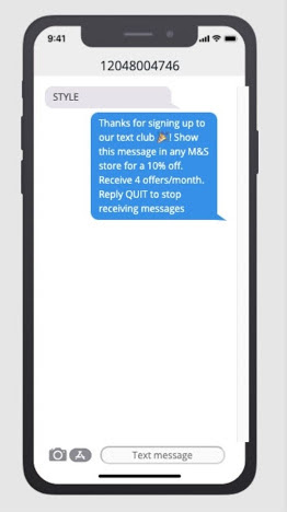 text blast marketing digital consent