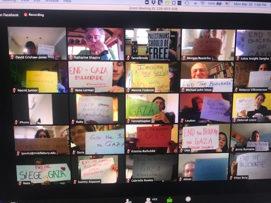 Nonprofit virtual meeting