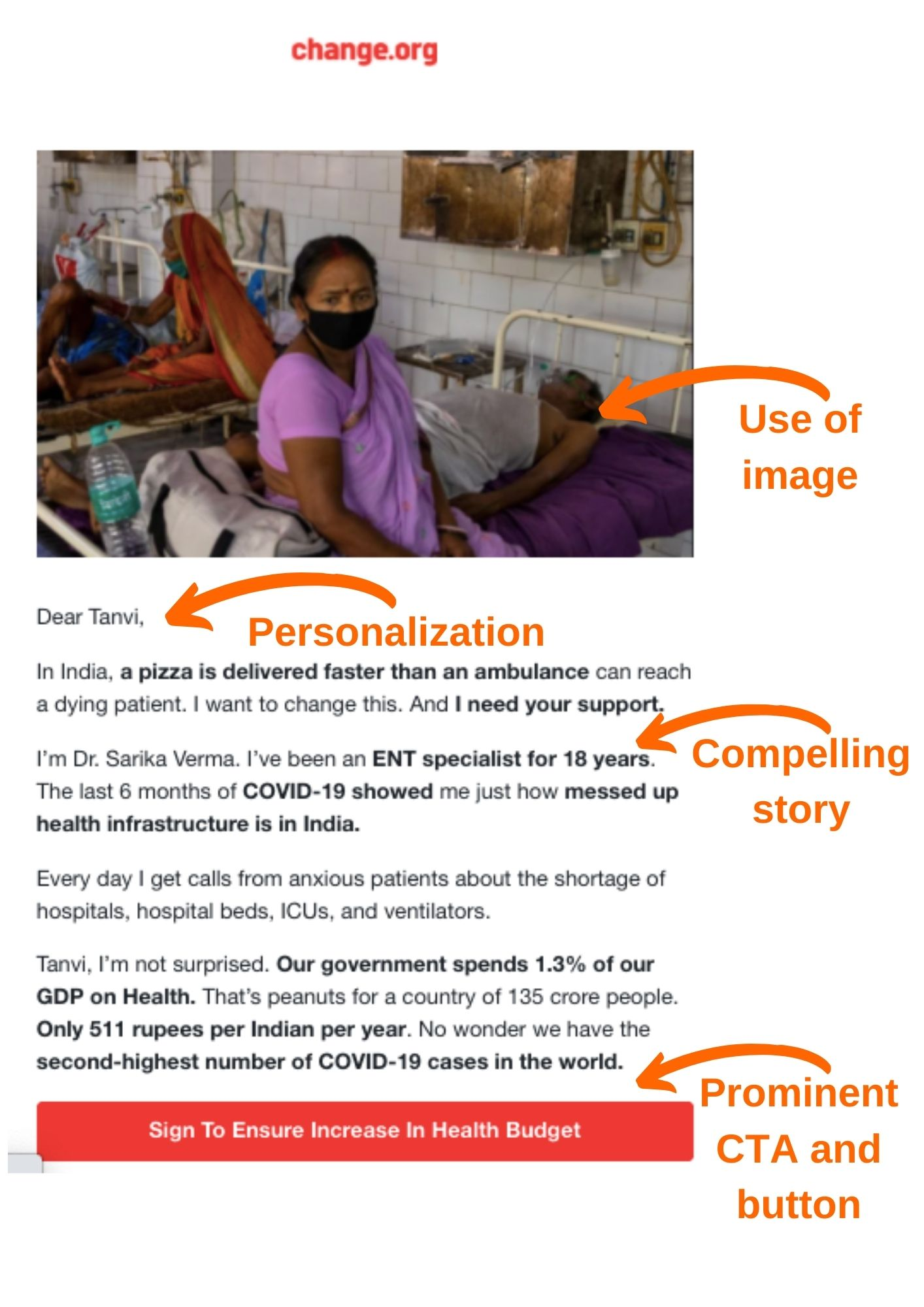 email-marketing-for-nonprofits-best-practice-example