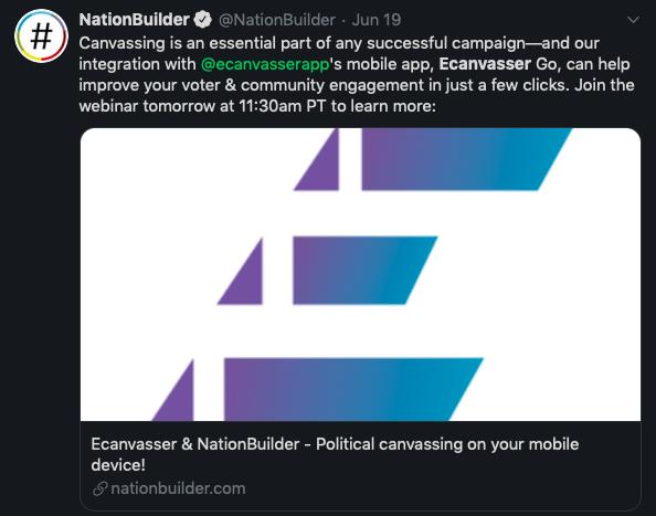 nationbuilder-ecanvasser-integration