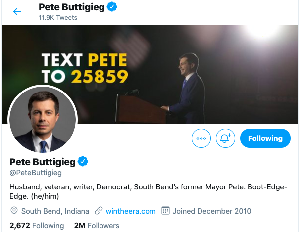 social-media-political-campaign-pete-buttigieg