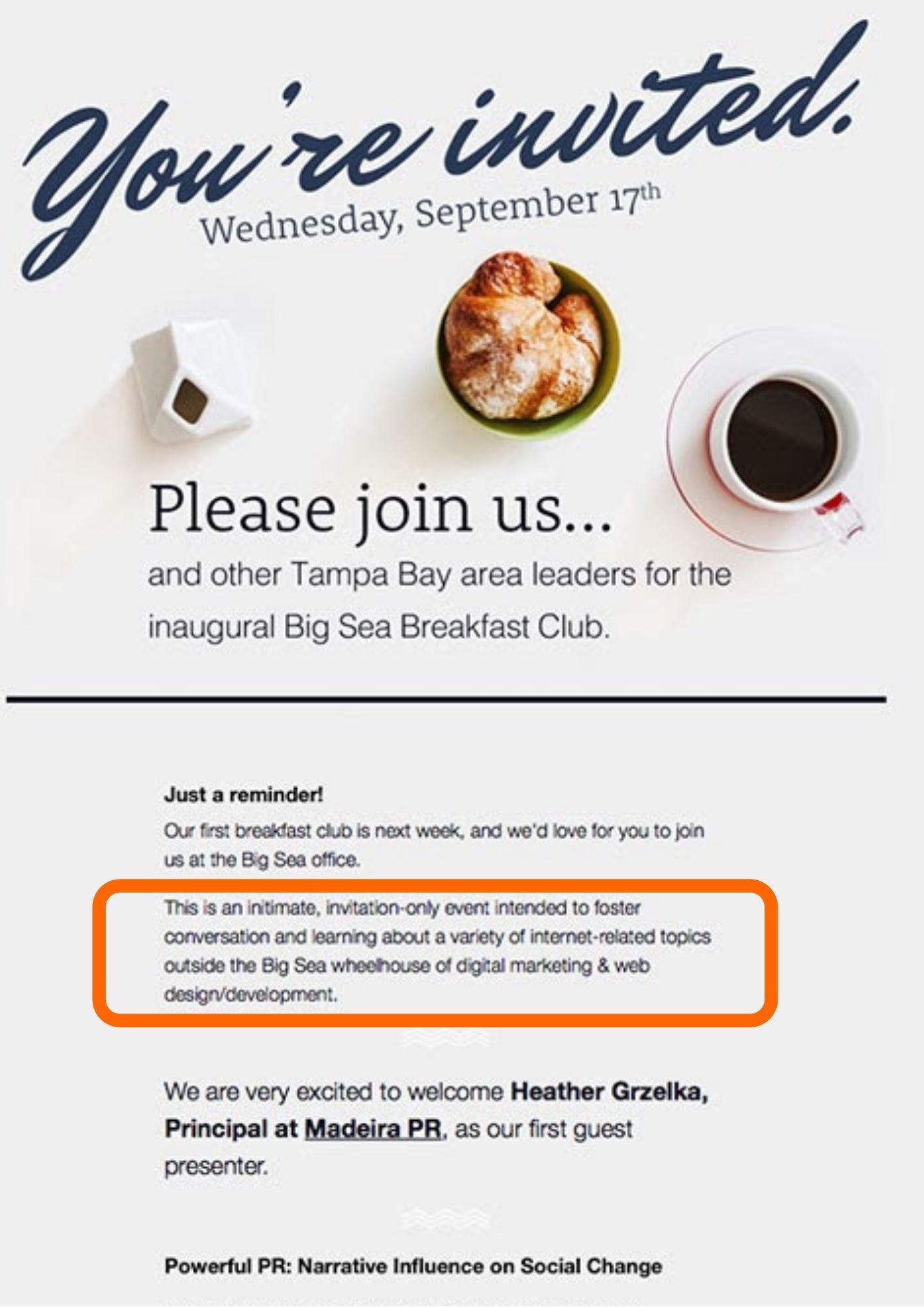 alumni-engagement-metrics-breakfast-invite-email