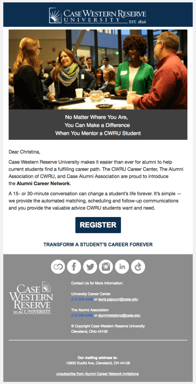 contacting-alumni-email-sample-CWRU-example