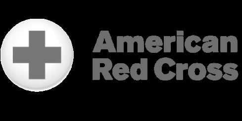 amercian red cross logo grey