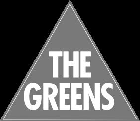 greens party logo grey