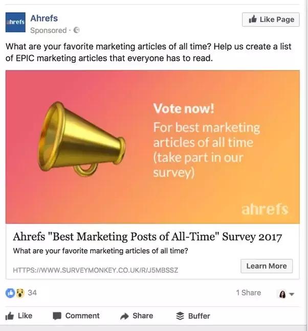 social-media-survey-example