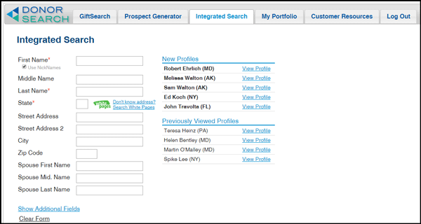 donor-prospect-research-tool-donorsearch