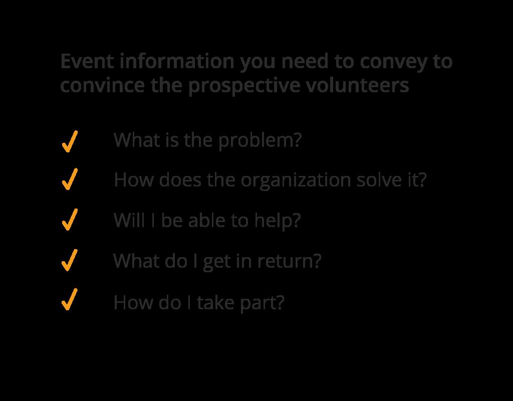 nonprofit event call script volunteer thought process