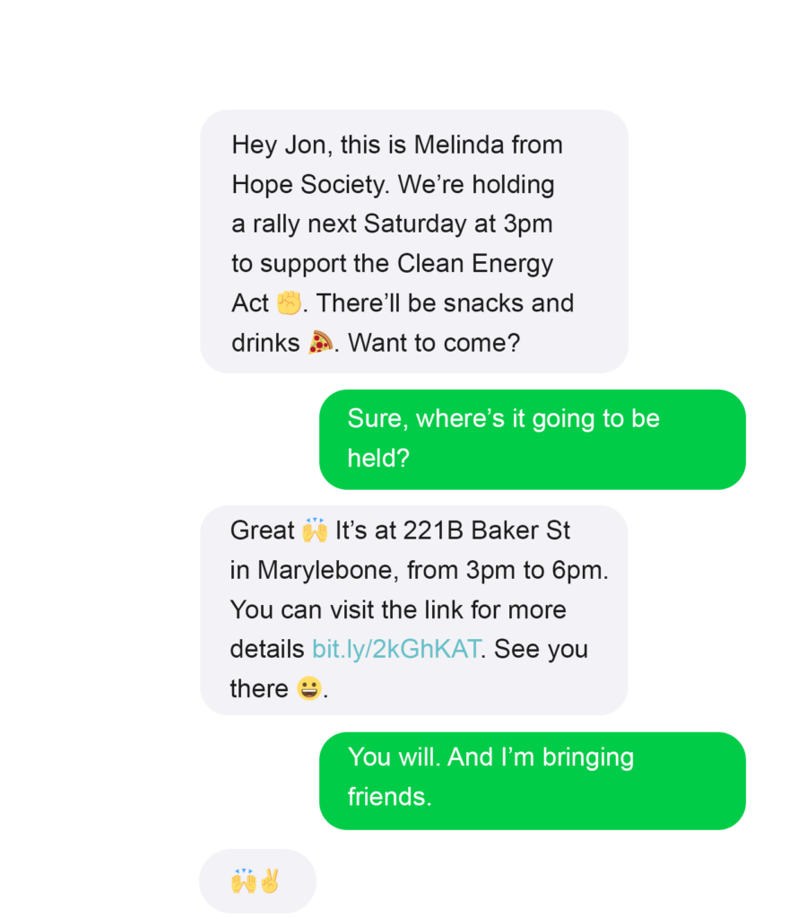 nonprofit event invitation example