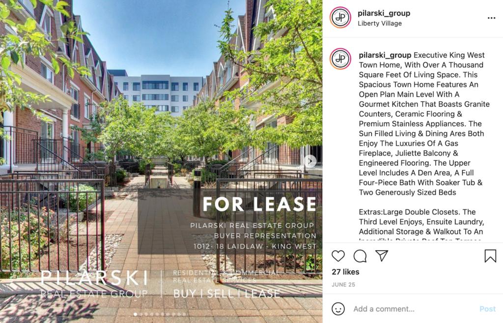 real estate social media property photographs