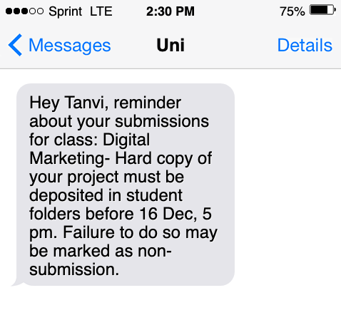 school-text-messaging-service